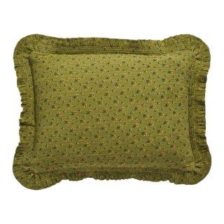 <img class='new_mark_img1' src='https://img.shop-pro.jp/img/new/icons14.gif' style='border:none;display:inline;margin:0px;padding:0px;width:auto;' />Projektityyny  Leinikki smocked frill cushion, olive(カバーのみ)