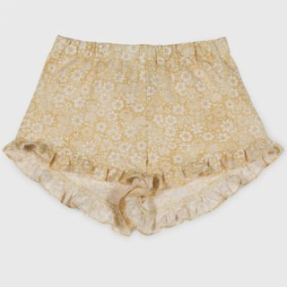 <img class='new_mark_img1' src='https://img.shop-pro.jp/img/new/icons14.gif' style='border:none;display:inline;margin:0px;padding:0px;width:auto;' />Linen flower  Shorts from Spain (paleyellow)