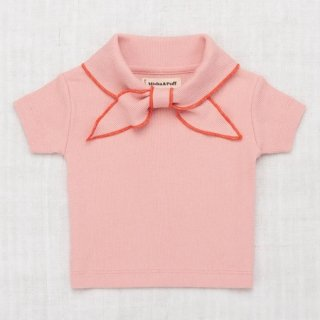 <img class='new_mark_img1' src='https://img.shop-pro.jp/img/new/icons14.gif' style='border:none;display:inline;margin:0px;padding:0px;width:auto;' />MISHA & PUFF Ribbed Scout Tee (Rose Blush)