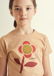 <img class='new_mark_img1' src='https://img.shop-pro.jp/img/new/icons14.gif' style='border:none;display:inline;margin:0px;padding:0px;width:auto;' />CARAMEL Otter T-Shirt, Camel Printed Shape