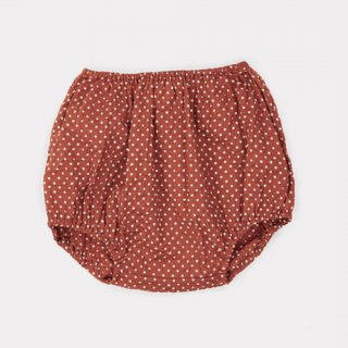 <img class='new_mark_img1' src='https://img.shop-pro.jp/img/new/icons14.gif' style='border:none;display:inline;margin:0px;padding:0px;width:auto;' />CARAMEL Grouper Baby Bloomer, Rust Dot