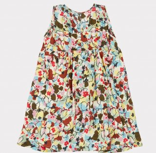 <img class='new_mark_img1' src='https://img.shop-pro.jp/img/new/icons14.gif' style='border:none;display:inline;margin:0px;padding:0px;width:auto;' />CARAMEL  Octopus Dress Woven Dress Painted Flower