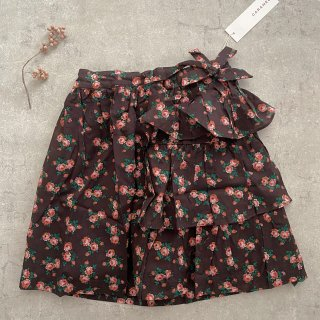 <img class='new_mark_img1' src='https://img.shop-pro.jp/img/new/icons14.gif' style='border:none;display:inline;margin:0px;padding:0px;width:auto;' />CARAMEL  Flounder Skirt Woven skirt Bright Floral