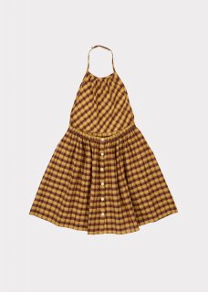 <img class='new_mark_img1' src='https://img.shop-pro.jp/img/new/icons14.gif' style='border:none;display:inline;margin:0px;padding:0px;width:auto;' />CARAMEL  Pelican Pinafore Woven Pinafore Mustard Check