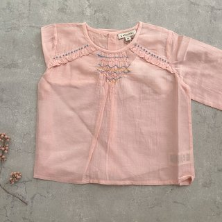<img class='new_mark_img1' src='https://img.shop-pro.jp/img/new/icons14.gif' style='border:none;display:inline;margin:0px;padding:0px;width:auto;' />CARAMEL  Krill Blouse Woven Top pink