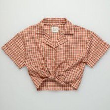 <img class='new_mark_img1' src='https://img.shop-pro.jp/img/new/icons14.gif' style='border:none;display:inline;margin:0px;padding:0px;width:auto;' />The New Society  Arlette Shirt  Caramel Check