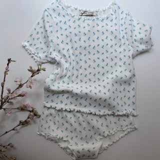 <img class='new_mark_img1' src='https://img.shop-pro.jp/img/new/icons14.gif' style='border:none;display:inline;margin:0px;padding:0px;width:auto;' />The New Society  MAR TULIP FLOWER TEE& SHORTS SET