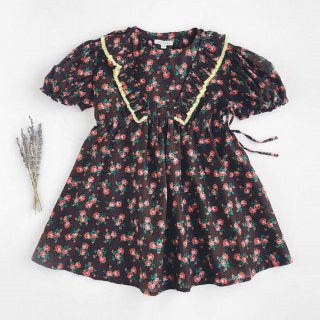 <img class='new_mark_img1' src='https://img.shop-pro.jp/img/new/icons14.gif' style='border:none;display:inline;margin:0px;padding:0px;width:auto;' />CARAMEL dot Orca Dress, bright floral