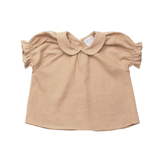 <img class='new_mark_img1' src='https://img.shop-pro.jp/img/new/icons14.gif' style='border:none;display:inline;margin:0px;padding:0px;width:auto;' />NellieQuats  Duck Duck Goose Blouse(Clay Linen )