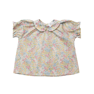 <img class='new_mark_img1' src='https://img.shop-pro.jp/img/new/icons14.gif' style='border:none;display:inline;margin:0px;padding:0px;width:auto;' />NellieQuats  Duck Duck Goose Blouse(Joanna Louise Liberty Print )