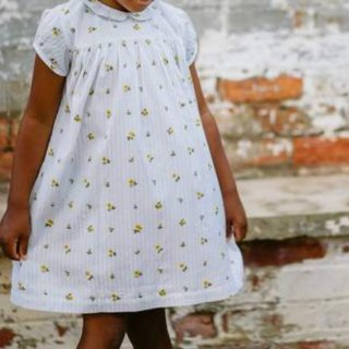 <img class='new_mark_img1' src='https://img.shop-pro.jp/img/new/icons14.gif' style='border:none;display:inline;margin:0px;padding:0px;width:auto;' />Little cottons HERA dress (Clover Floral seersucker)