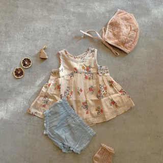 <img class='new_mark_img1' src='https://img.shop-pro.jp/img/new/icons14.gif' style='border:none;display:inline;margin:0px;padding:0px;width:auto;' />ARI Set babys top &bloomer set (flower) from USA