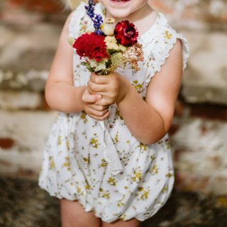 <img class='new_mark_img1' src='https://img.shop-pro.jp/img/new/icons14.gif' style='border:none;display:inline;margin:0px;padding:0px;width:auto;' />Little cottons ALFA Romper (tansy floral)
