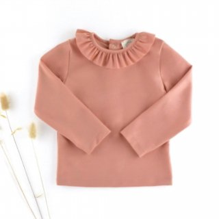 <img class='new_mark_img1' src='https://img.shop-pro.jp/img/new/icons14.gif' style='border:none;display:inline;margin:0px;padding:0px;width:auto;' />OLYMPE Ruffle Top with collar  Anti Uv (rose)