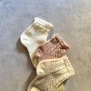 <img class='new_mark_img1' src='https://img.shop-pro.jp/img/new/icons14.gif' style='border:none;display:inline;margin:0px;padding:0px;width:auto;' />Condor perle openwork short sox  (142.520/4)