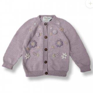 Shirley Bredal cotton flower cardigan(新色lilac)