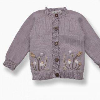 Shirley Bredal cotton wild flower cardigan(新色lilac)