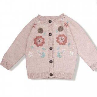 Shirley Bredal cotton flower cardigan(dustypink)
