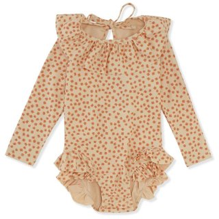 <img class='new_mark_img1' src='https://img.shop-pro.jp/img/new/icons14.gif' style='border:none;display:inline;margin:0px;padding:0px;width:auto;' />Konges SLoejd  Long sleeve Swimsuits (buttercup Orange)