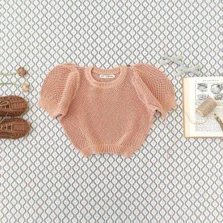 <img class='new_mark_img1' src='https://img.shop-pro.jp/img/new/icons14.gif' style='border:none;display:inline;margin:0px;padding:0px;width:auto;' />SOORPLOOM  mimi knit (CLAY)