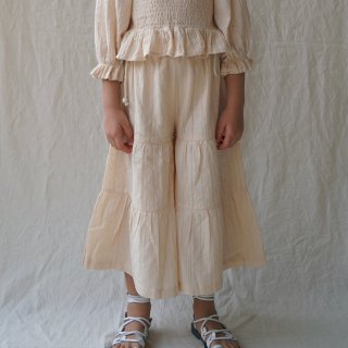 <img class='new_mark_img1' src='https://img.shop-pro.jp/img/new/icons14.gif' style='border:none;display:inline;margin:0px;padding:0px;width:auto;' />HOUSE OF PALOMA Yolanda Pant ( Perle Broderie)