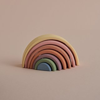 rainbow Stacking Toy (PASTELEARTH) From Russia