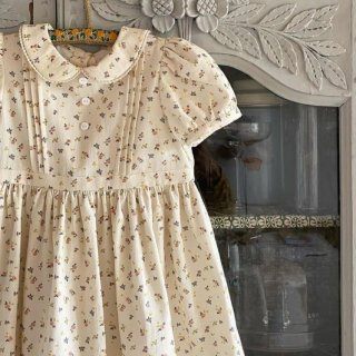 <img class='new_mark_img1' src='https://img.shop-pro.jp/img/new/icons20.gif' style='border:none;display:inline;margin:0px;padding:0px;width:auto;' />SALE!!!limited edition!!Little cottons Phoebe dress petal floral (BCI cotton)