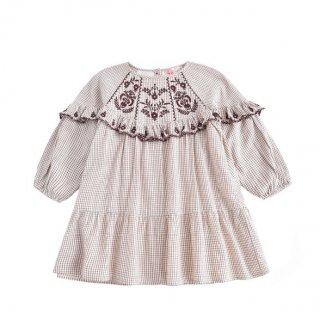 <img class='new_mark_img1' src='https://img.shop-pro.jp/img/new/icons14.gif' style='border:none;display:inline;margin:0px;padding:0px;width:auto;' />予約販売 LOUIS MISHA  Melody Dress (Cream check)