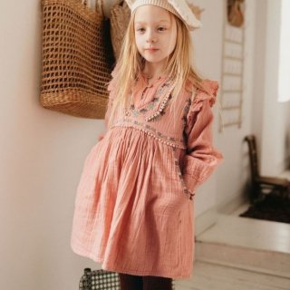 <img class='new_mark_img1' src='https://img.shop-pro.jp/img/new/icons14.gif' style='border:none;display:inline;margin:0px;padding:0px;width:auto;' />即納 LOUIS MISHA  Bianca   Dress (Sienna)