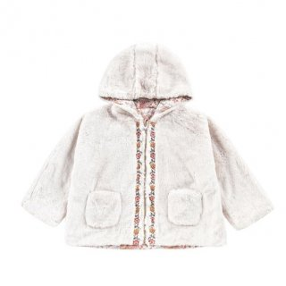 <img class='new_mark_img1' src='https://img.shop-pro.jp/img/new/icons14.gif' style='border:none;display:inline;margin:0px;padding:0px;width:auto;' />即納 LOUIS MISHA Reversible Fur Coat  (Cream french flower)