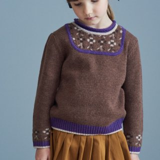 <img class='new_mark_img1' src='https://img.shop-pro.jp/img/new/icons14.gif' style='border:none;display:inline;margin:0px;padding:0px;width:auto;' />CARAMEL  SATURN  KNIT JUMPER  21AW