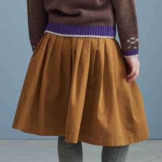 <img class='new_mark_img1' src='https://img.shop-pro.jp/img/new/icons14.gif' style='border:none;display:inline;margin:0px;padding:0px;width:auto;' />CARAMEL  BAIL SKIRT (musturd) 21AW