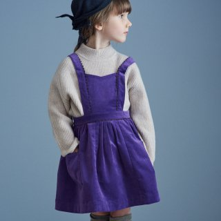 <img class='new_mark_img1' src='https://img.shop-pro.jp/img/new/icons14.gif' style='border:none;display:inline;margin:0px;padding:0px;width:auto;' />CARAMEL FURREN PINFORE  (deep purple)21AW