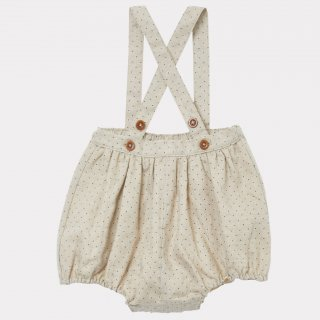 <img class='new_mark_img1' src='https://img.shop-pro.jp/img/new/icons14.gif' style='border:none;display:inline;margin:0px;padding:0px;width:auto;' />CARAMEL PARE BABY ROMPER  (Cream Dotty )21AW