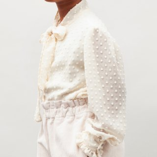 <img class='new_mark_img1' src='https://img.shop-pro.jp/img/new/icons14.gif' style='border:none;display:inline;margin:0px;padding:0px;width:auto;' />tocotovintage  Plumetti blouse (offwhite)