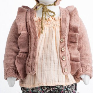 <img class='new_mark_img1' src='https://img.shop-pro.jp/img/new/icons14.gif' style='border:none;display:inline;margin:0px;padding:0px;width:auto;' />tocotovintage  Knitted lacework cardigan (pink)