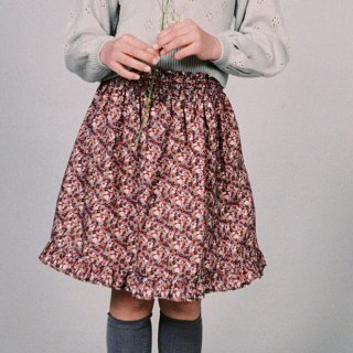 <img class='new_mark_img1' src='https://img.shop-pro.jp/img/new/icons14.gif' style='border:none;display:inline;margin:0px;padding:0px;width:auto;' />Smock waist Popeline Skirt  (liberty)