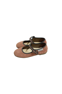 <img class='new_mark_img1' src='https://img.shop-pro.jp/img/new/icons14.gif' style='border:none;display:inline;margin:0px;padding:0px;width:auto;' />Ballerina Shoes  (suede leather )FROM SPAIN oldpink/grey