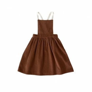 <img class='new_mark_img1' src='https://img.shop-pro.jp/img/new/icons14.gif' style='border:none;display:inline;margin:0px;padding:0px;width:auto;' />LiiLU   CORD Apron  Dress