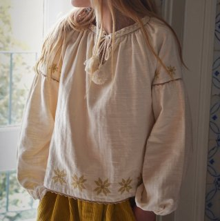 <img class='new_mark_img1' src='https://img.shop-pro.jp/img/new/icons14.gif' style='border:none;display:inline;margin:0px;padding:0px;width:auto;' />LiiLU   FOLK  Blouse  (embroidary)