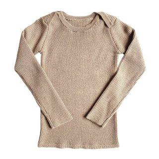 <img class='new_mark_img1' src='https://img.shop-pro.jp/img/new/icons14.gif' style='border:none;display:inline;margin:0px;padding:0px;width:auto;' />MABLI Sylfaen Skinny Rib Wool Top (Vintage Cream)