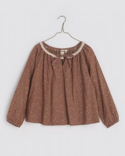 <img class='new_mark_img1' src='https://img.shop-pro.jp/img/new/icons14.gif' style='border:none;display:inline;margin:0px;padding:0px;width:auto;' />Little cottons Olive  Blouse (Rose Floral in Oak)コーデュロイ素材
