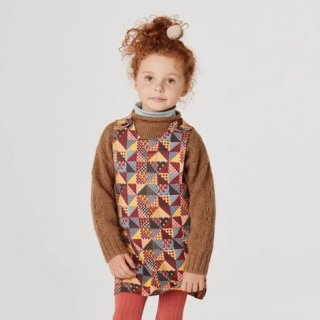 <img class='new_mark_img1' src='https://img.shop-pro.jp/img/new/icons14.gif' style='border:none;display:inline;margin:0px;padding:0px;width:auto;' />★MISHA & PUFF   Pinfore  (mango patchwork)
