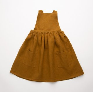 <img class='new_mark_img1' src='https://img.shop-pro.jp/img/new/icons14.gif' style='border:none;display:inline;margin:0px;padding:0px;width:auto;' />NellieQuats  Conker Pinfore(Burnt Caramel Linen)