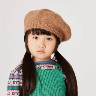 <img class='new_mark_img1' src='https://img.shop-pro.jp/img/new/icons14.gif' style='border:none;display:inline;margin:0px;padding:0px;width:auto;' />★MISHA & PUFF  Natural Alpaca Simple Beret (Camel) アルパカ100%
