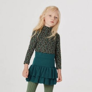 <img class='new_mark_img1' src='https://img.shop-pro.jp/img/new/icons14.gif' style='border:none;display:inline;margin:0px;padding:0px;width:auto;' />★MISHA & PUFF  Puff Sleeve Turtleneck (Emerald  Mini Floral)
