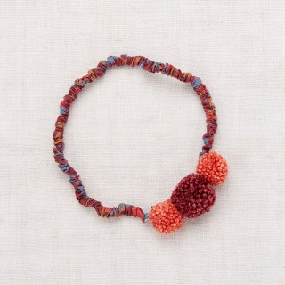 <img class='new_mark_img1' src='https://img.shop-pro.jp/img/new/icons14.gif' style='border:none;display:inline;margin:0px;padding:0px;width:auto;' />★MISHA & PUFF pom pom Hair band (cranberry)