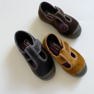 <img class='new_mark_img1' src='https://img.shop-pro.jp/img/new/icons14.gif' style='border:none;display:inline;margin:0px;padding:0px;width:auto;' />CIENTA Velour  T strap shoe (Beige(Gray)(Marron)