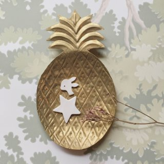 Les petits bohemes    ananas tray