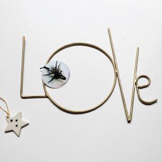 Zoe rumeau LOVE(gold)